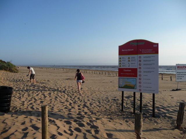 Brean : Berrow Beach & Beach Sands
