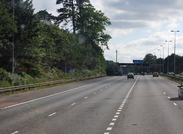 The M25 / A21 junction