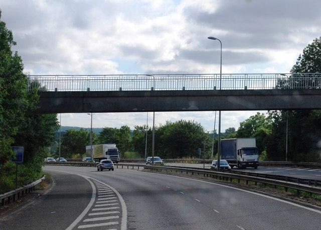 Bridge over the M25