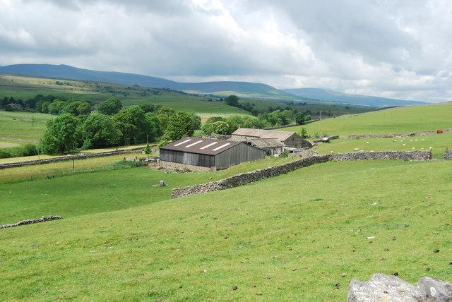 Harber farmhouse and farm buildings