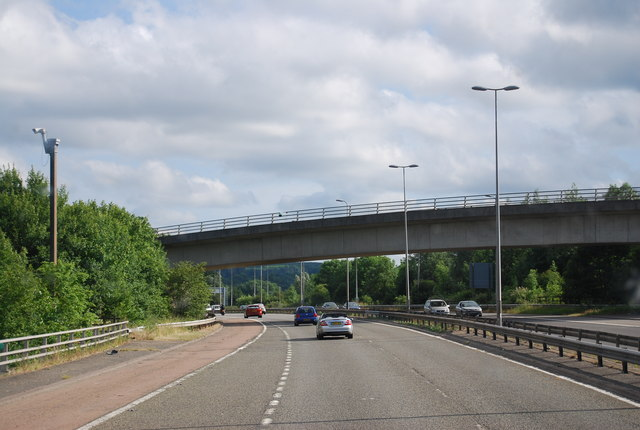 Chevening Road bridge over the M25