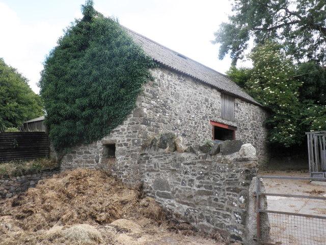 Barn, at Lower Halstock