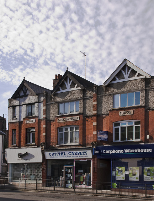 Shop Fronts in Station Avenue