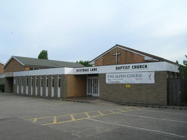 Westdale Lane Baptist Church, Nottingham