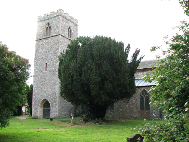 All Saints church in Stanhoe