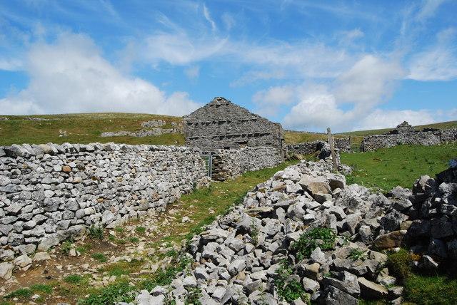 Long abandoned farm steading