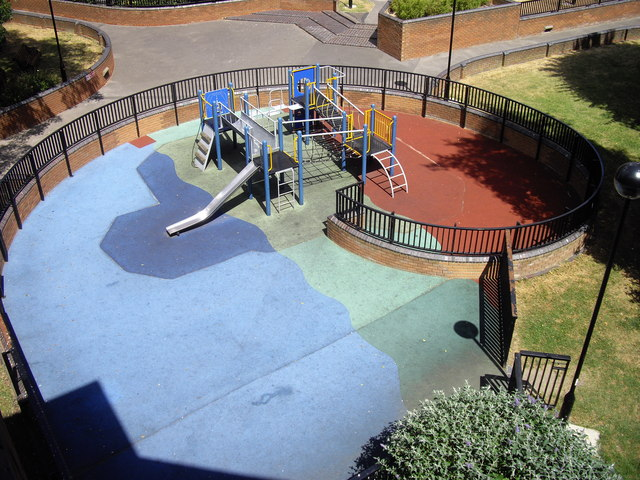 Playground on Worlds End Estate Chelsea
