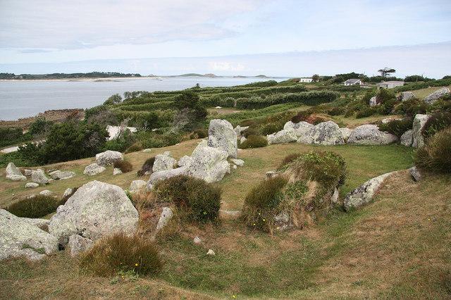 Halangy Down Iron Age village