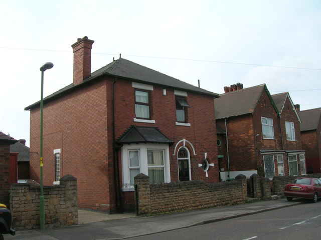 House on Thorneywood Mount, Nottingham