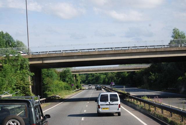 Morley Road junction, A21