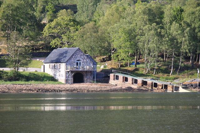 Boathouse Restaurant, Kingairloch, Loch á Choire