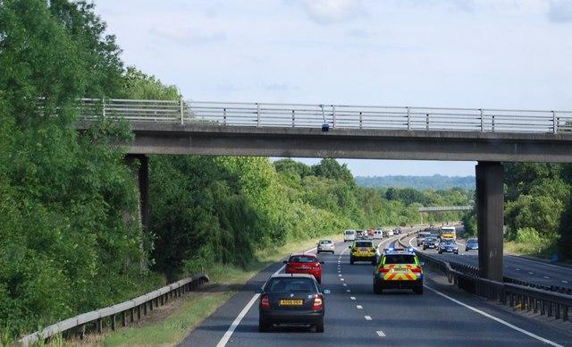 Nizels Lane bridge, A21