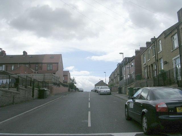 Moorbottom Road - viewed from Thorne Road