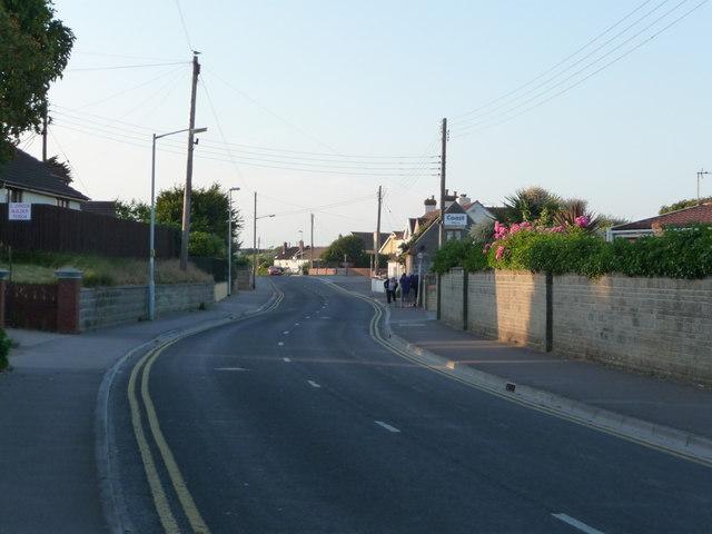 Brean : South Road