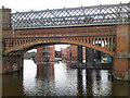 SJ8397 : Railway Bridge at Giants Basin by David Dixon