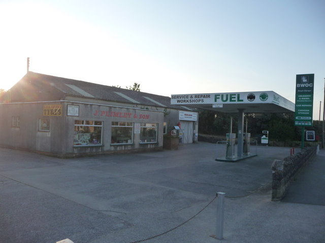 Brean : J.Plimley & Son & BWOC Petrol