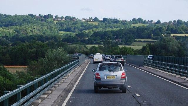 The A21, Tonbridge bypass