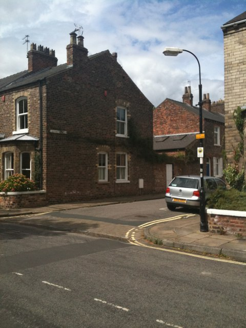 Corner of Kyme Street and Baile Hill Terrace