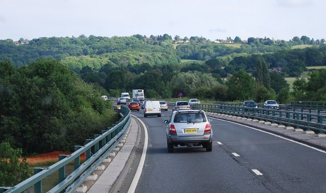 The A21, Tonbridge bypass