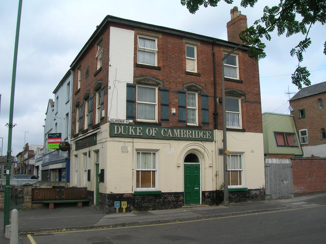 Duke of Cambridge, Carlton Road, Nottingham