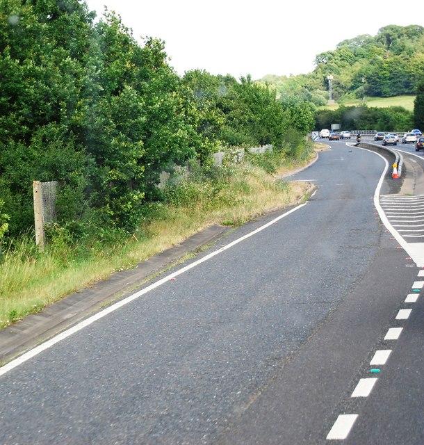 Lay-by,  A21, Tonbridge bypass