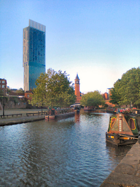 Bridgewater Canal at Castlefield