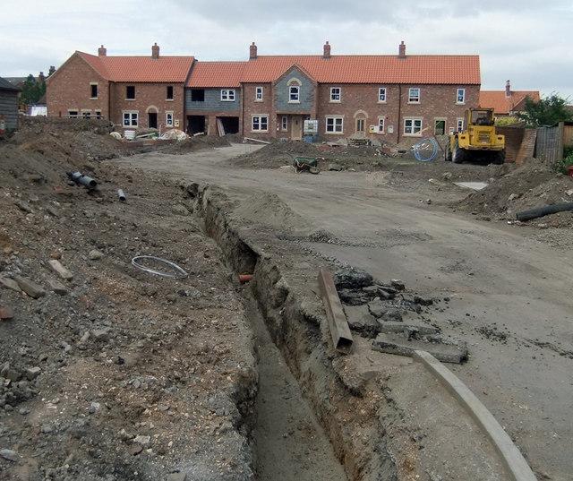 New Housing Development off Maltby Lane