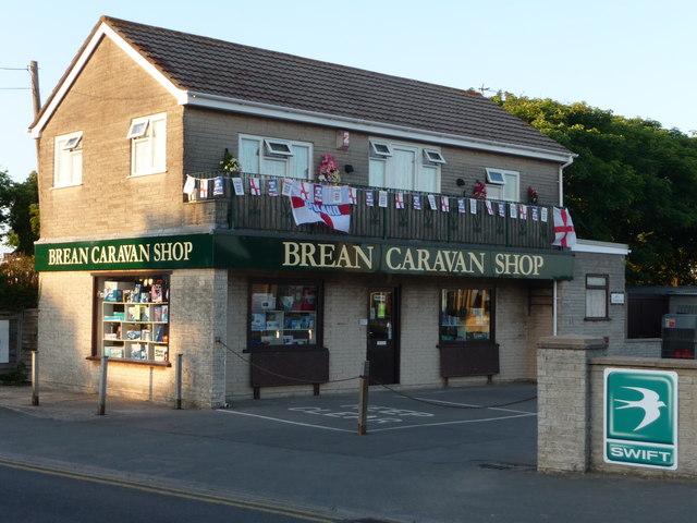 Brean : Brean Caravan Shop