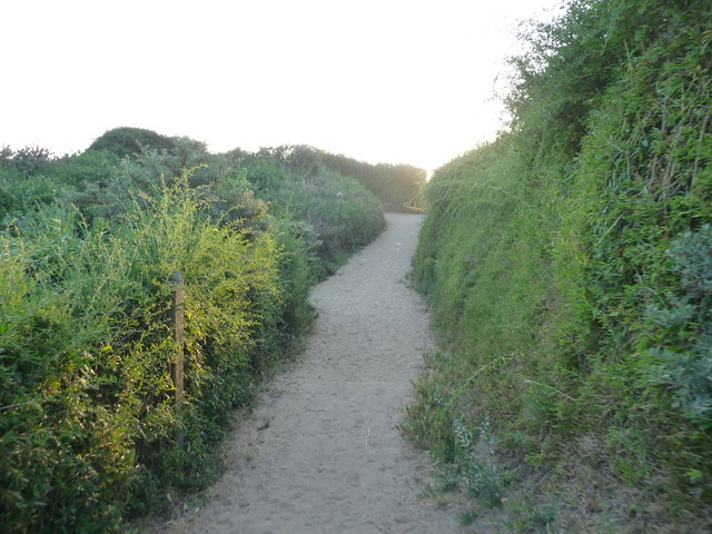 Brean : Sandy Path