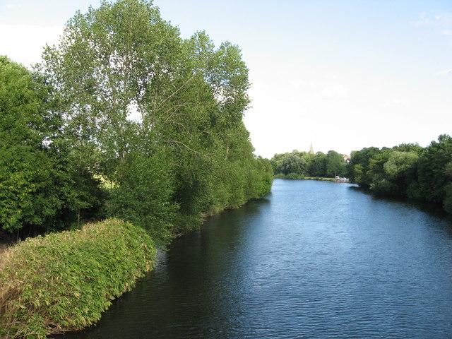 River Taff near Llandaff