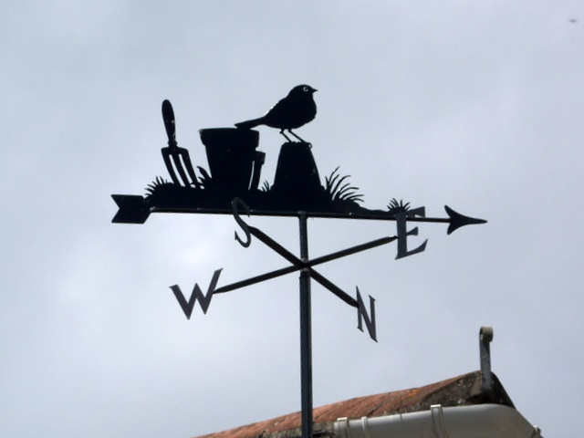 Weather vane, Pamela Hambro Hall