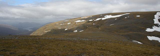 Plateau East of Sgor Iutharn
