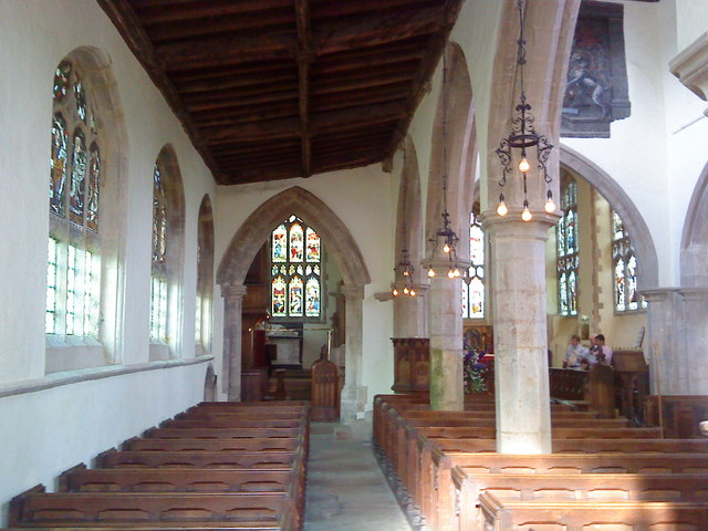 North aisle, St. Peter's Church, Lowick
