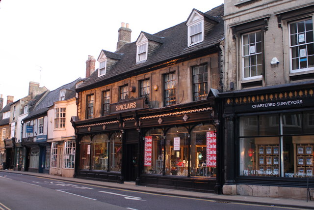 Old Shops in Stamford