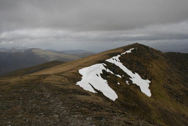 Summit ridge, Beinn Eibhinn
