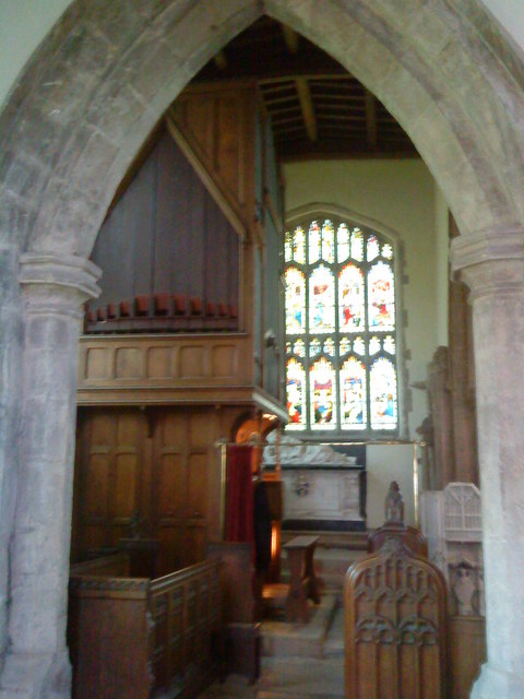The north chapel, St. Peter's Church, Lowick