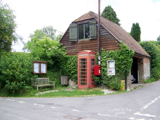 Village communications centre, Winterborne Houghton