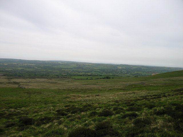 Moorland on the northern slope of the Preseli