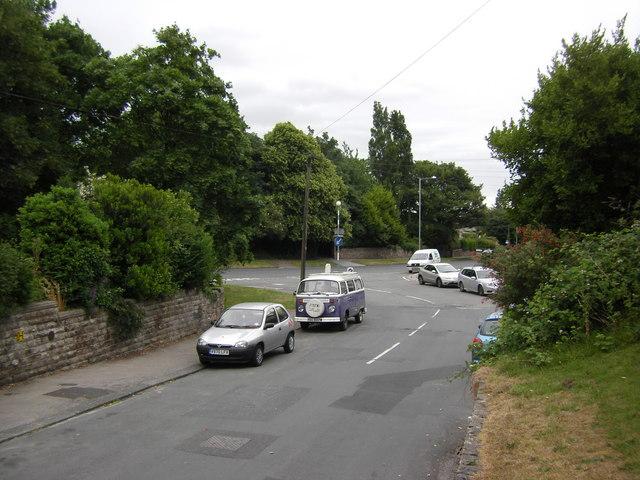 Middleton Road looking towards Middleton Way