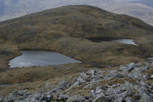 Lochans West of Beinn Eibhinn