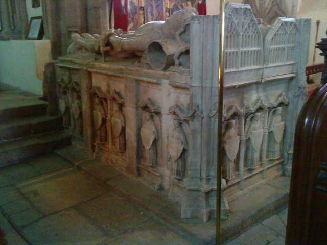 Tomb of Sir Ralph Greene (d.1419) and his wife Katherine