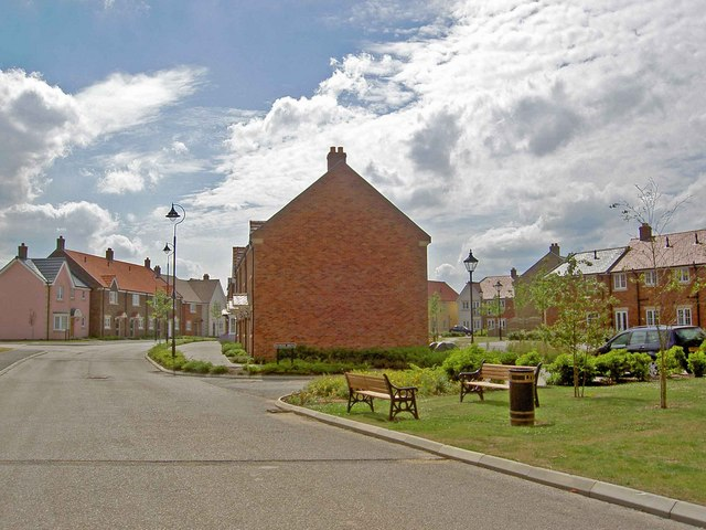 The Bay housing development Filey