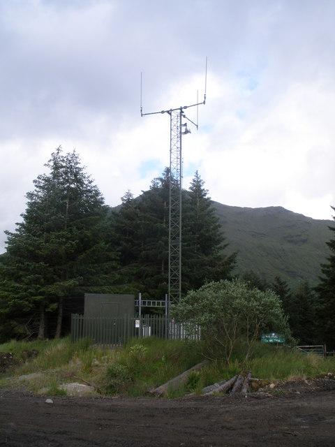 Radio mast Gleann Mor