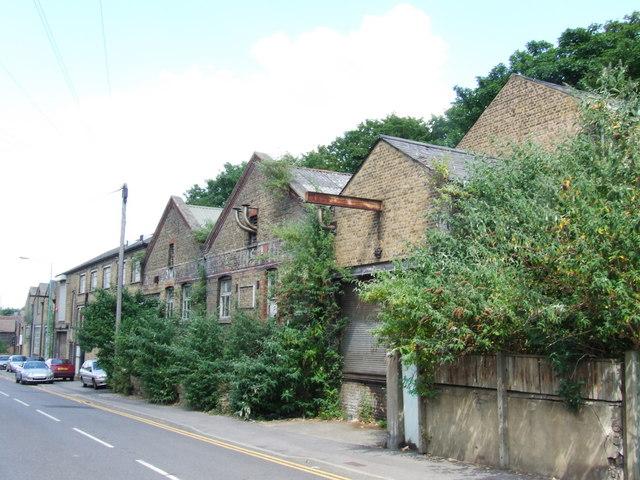 Industrial buildings, Richmond Road, Gillingham