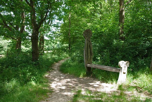 Decorative bench, Cuckoo Trail