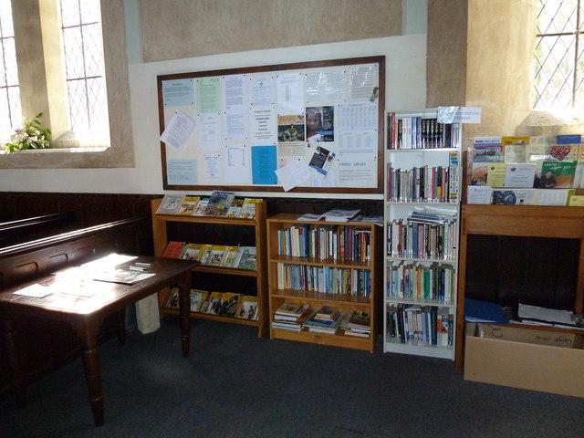 St John the Apostle, Marchwood- library