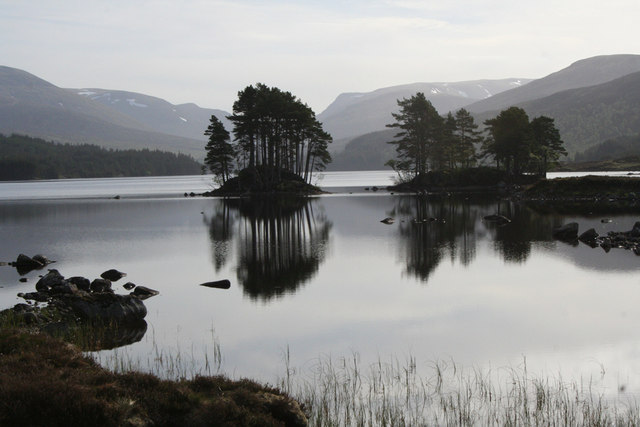 Reflections on Loch Ossian