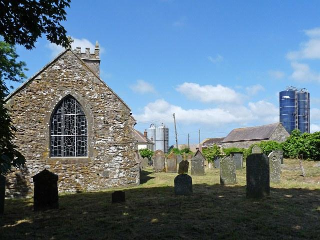St. Cwrda's churchyard, Jordanston