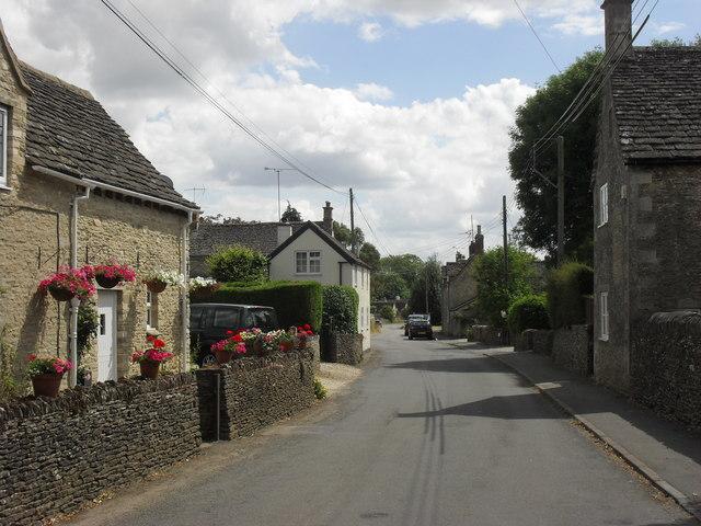 Village street, Poulton