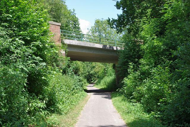 Cuckoo Trail - West Street Lane Bridge